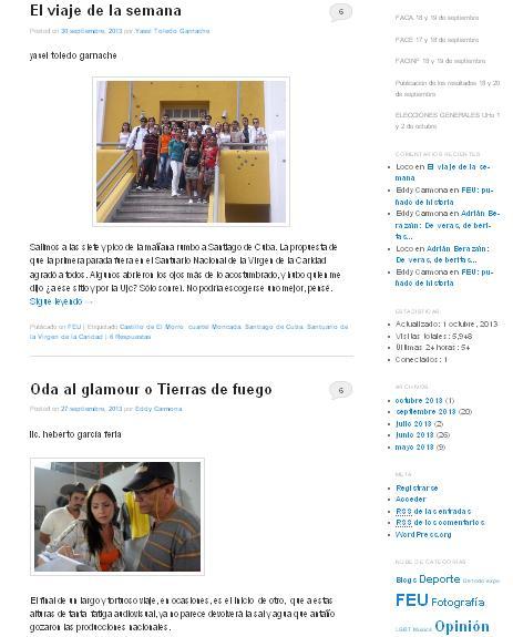 La Tendedera de la Universidad de Holguín