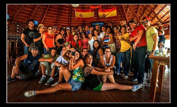 Guerrilla de Blogueros Camagüey 2014. Foto: Carlos E. Escalona Marti