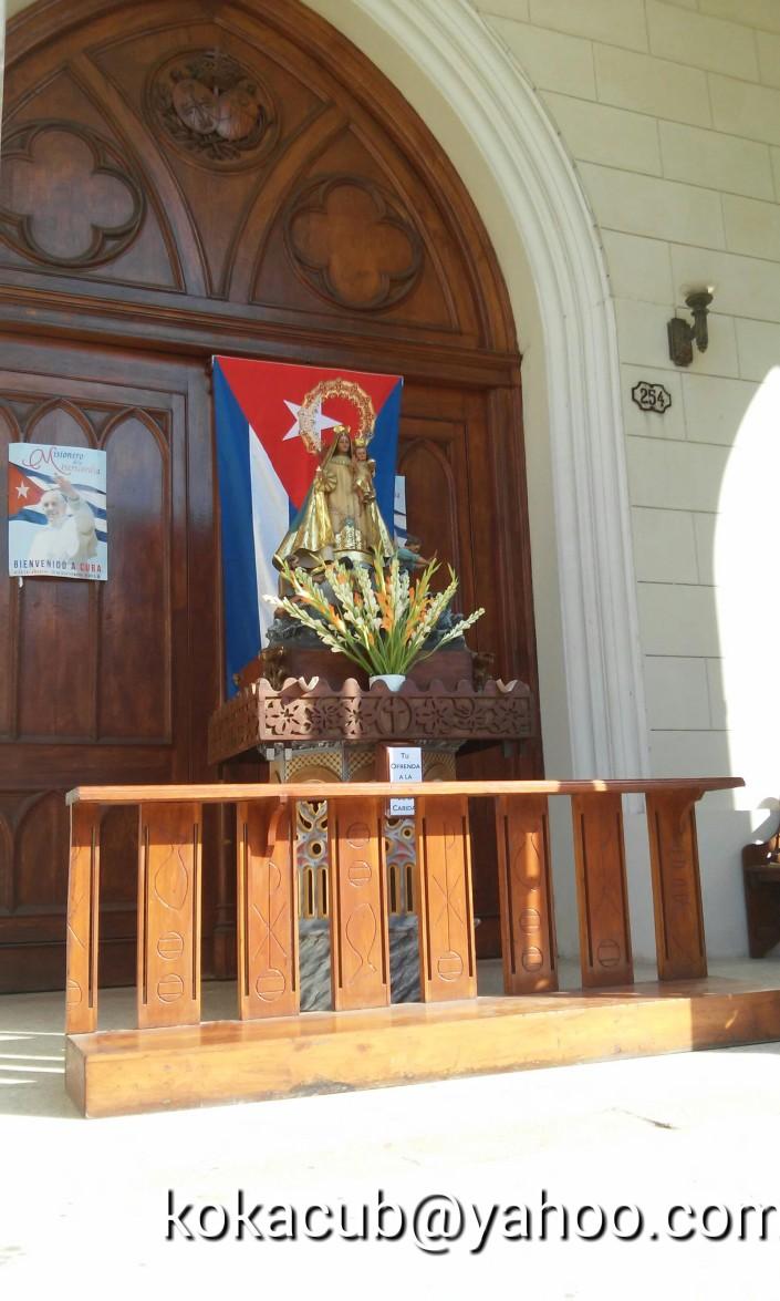 Virgen de la Caridad del Cobre. Foto: Kokacuba